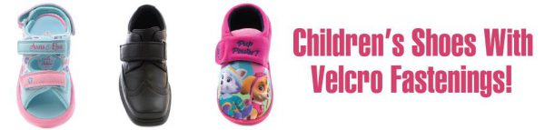 Kids Shoes With Velcro Fastenings
