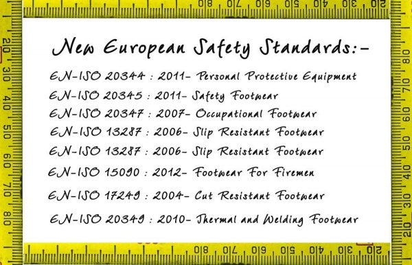Safety Code Information