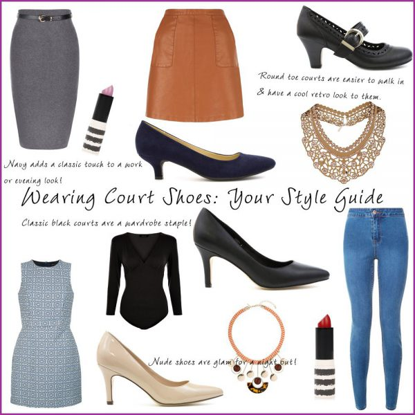 Styling Court Shoes