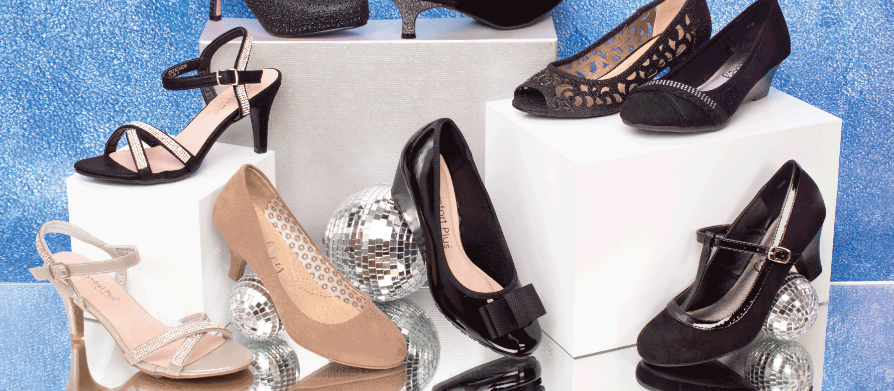 9ae05d30747 How to Wear Sparkly Shoes: Styling Party Shoes | Shoe Zone Blog