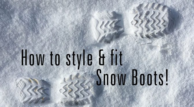 How To Size And Fit Snow Boots