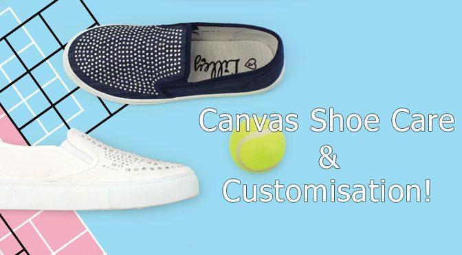 Canvas Shoe Care & Customisation