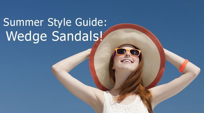 Summer Style Guide: Wedge Sandals