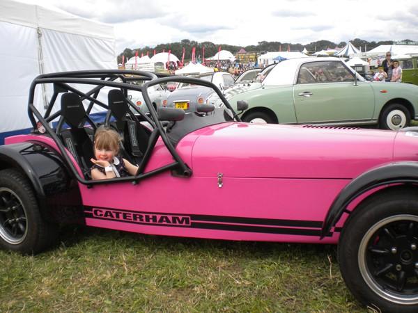 Pink Caterham