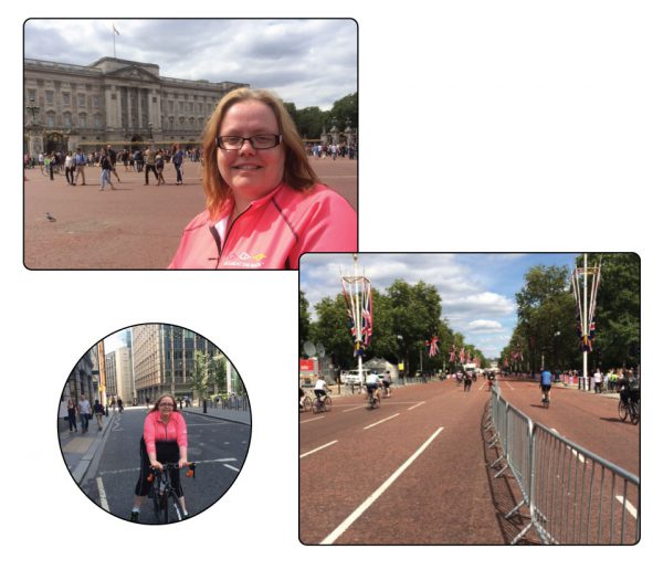 Bike ride London