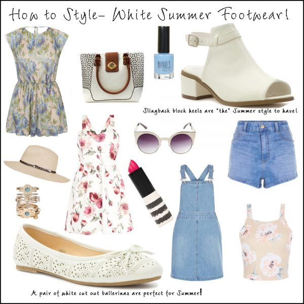 How to Style White Footwear