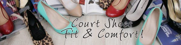 Court Shoes Comfort and Fit