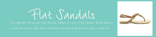 What are Flat Sandals?