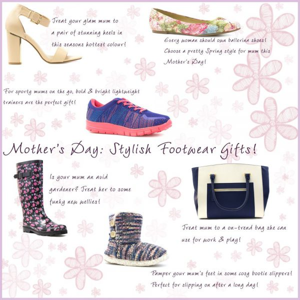 Footwear Gifts for Mothers Day