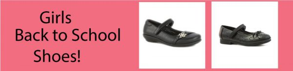 Girls Back to School Shoes