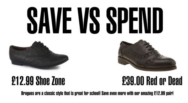 Back to School Brogue Shoes