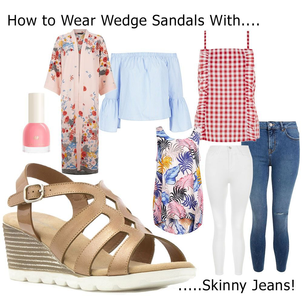 How-To-Wear-Wedges-With-Skinny-Jeans