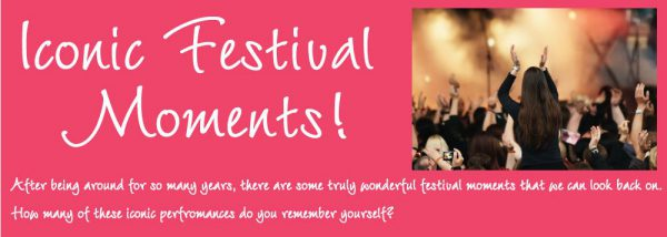 Memorable Festival Bands