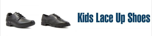 Choosing kids shoes with laces