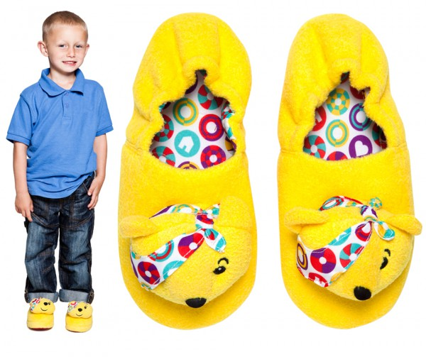 Kids Pudsey Slippers