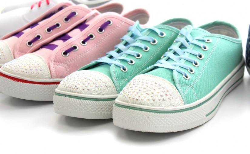 Creative Lacing Canvas Shoes