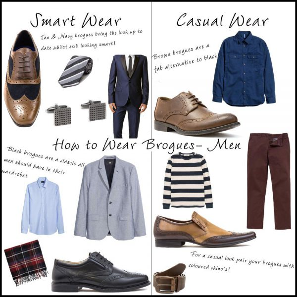 How to Style Mens Brogues