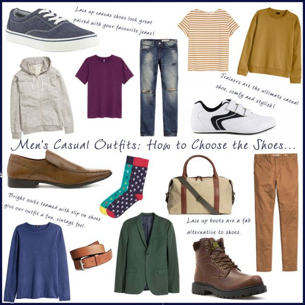 Choosing The Right Mens Casual Shoes