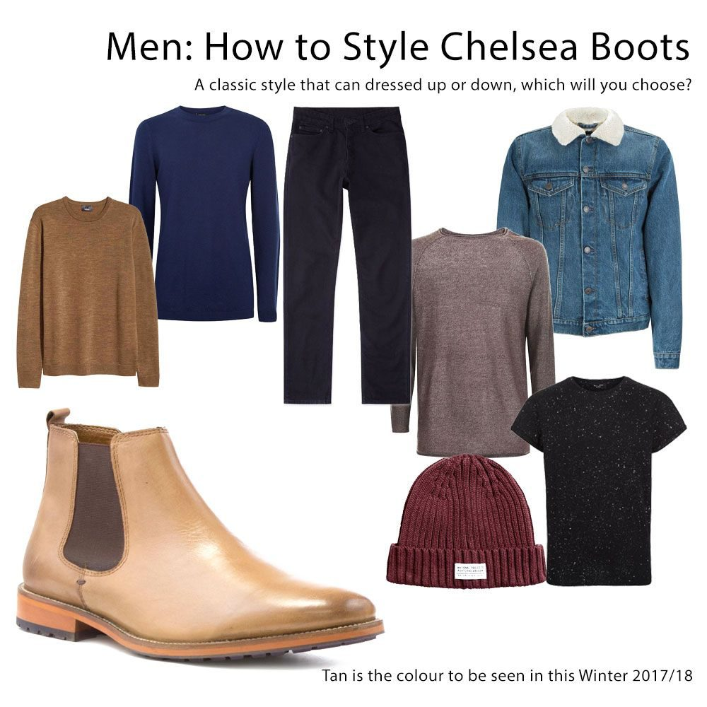 3cdbdab86da0 Style Guide: Chelsea Boots for Men & Women | Shoe Zone Blog