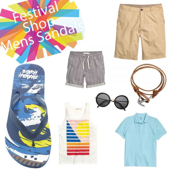 Festival Looks For Men- Sandals