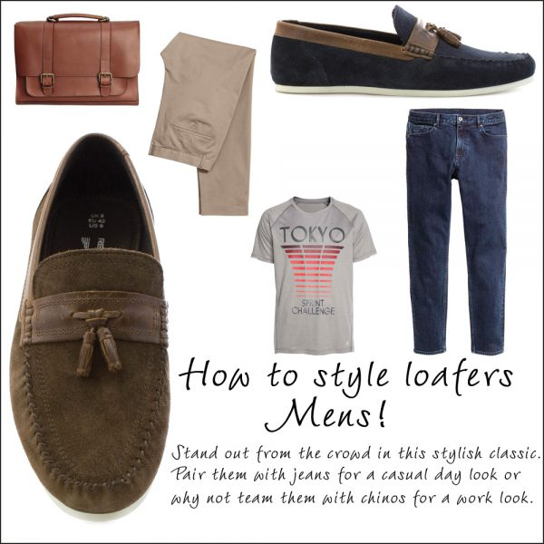 How to Wear Mens Loafers