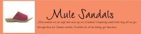 What are Mule Sandals?