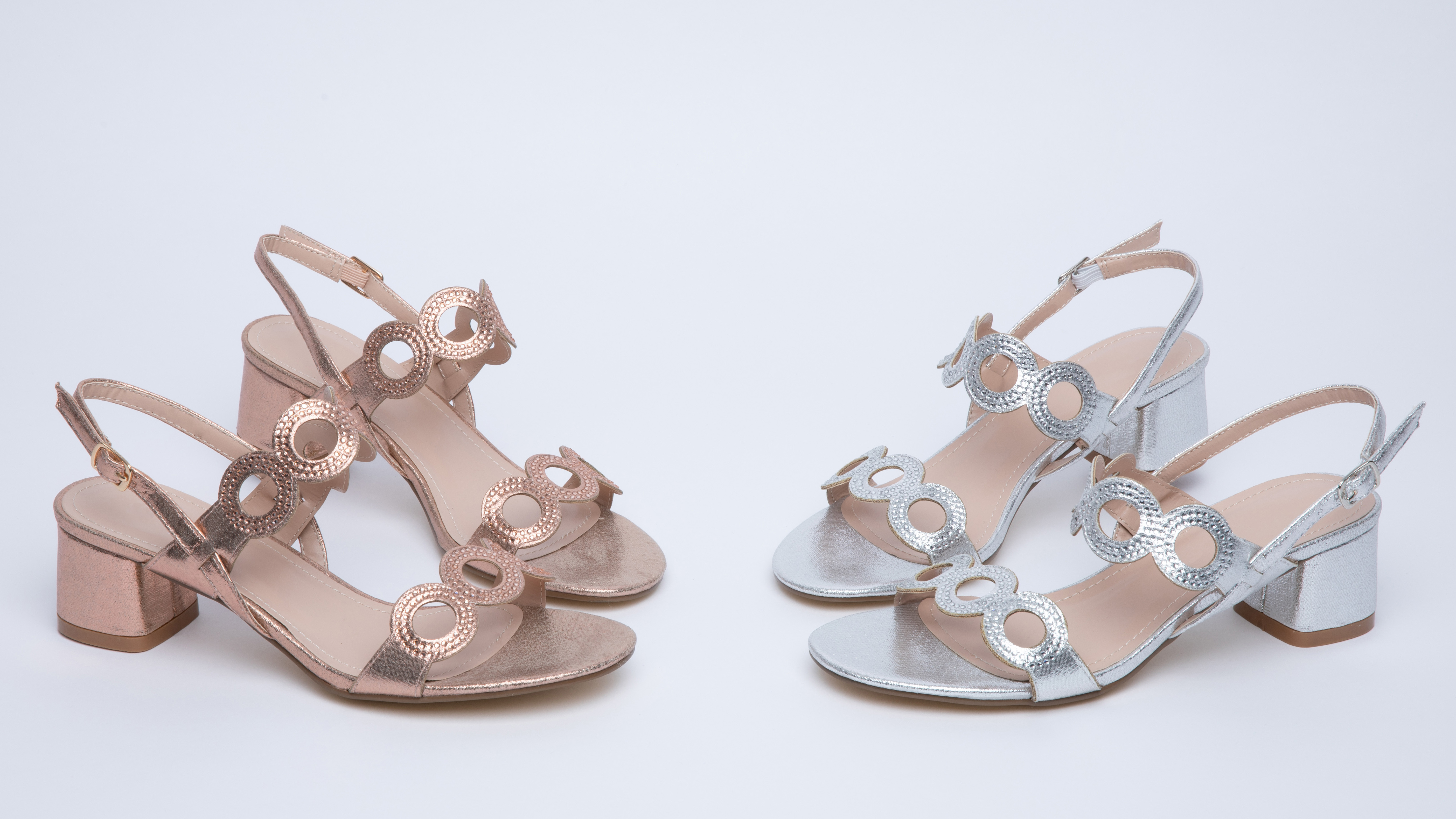 Bridesmaid Shoes: Heels and Flats for