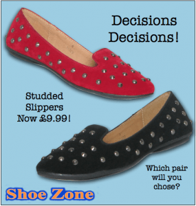 Shoe Zone'ista Slipper Shoes