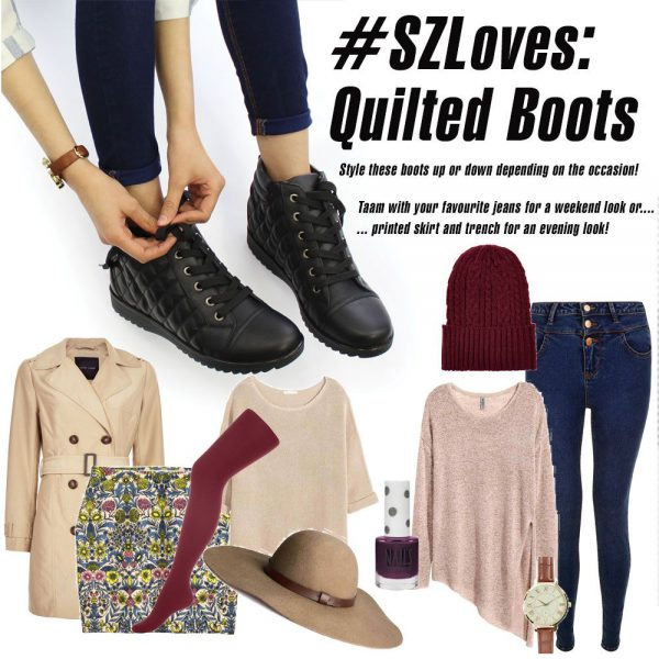 Autumn Winter Trends: Quilted Ankle Boots