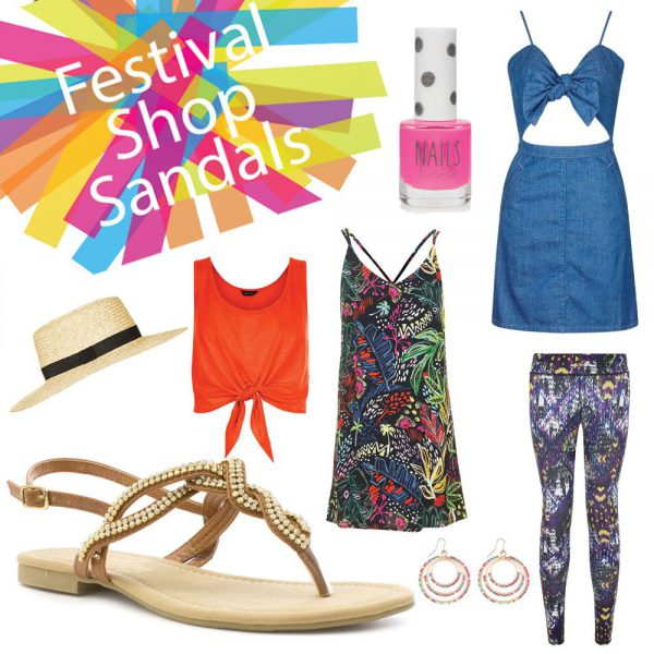 Womens Festival Looks Sandals
