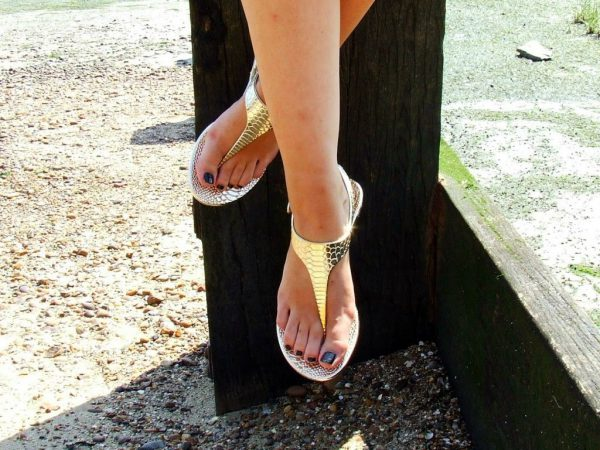 Gold Sandal Review