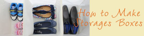 Crafting Shoe Storage Boxes