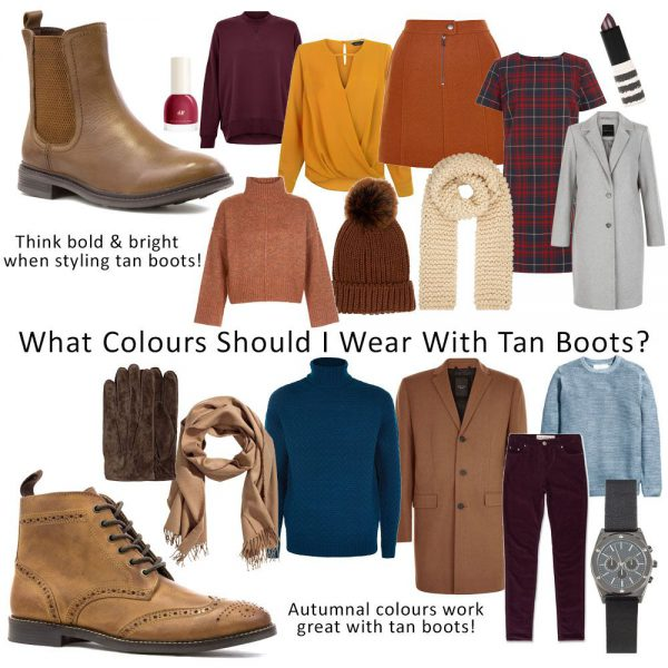 Styling-Tan-Boots-Womens-And-Mens