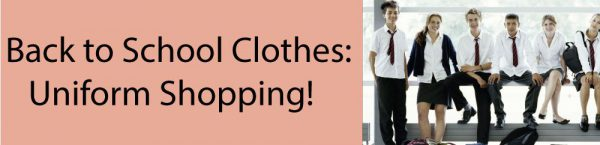 Back to School Uniform Shopping