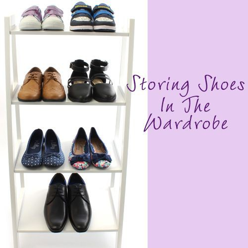Wardrobe Shoe Storage