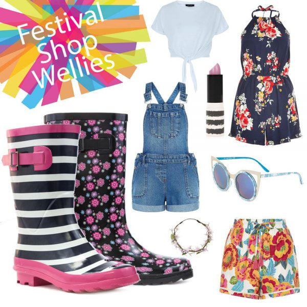 Festival Looks For Women Wellies