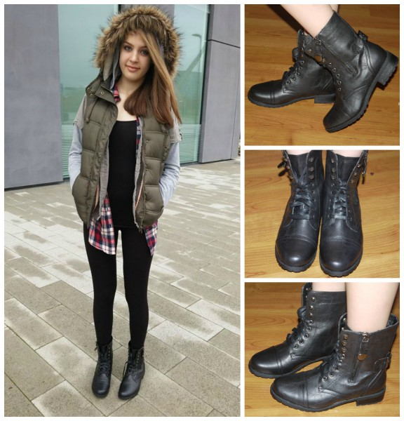 How To Wear Lace Up Military Boots Shoe Zone Blog
