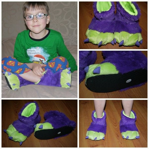 Boys Monster Slippers