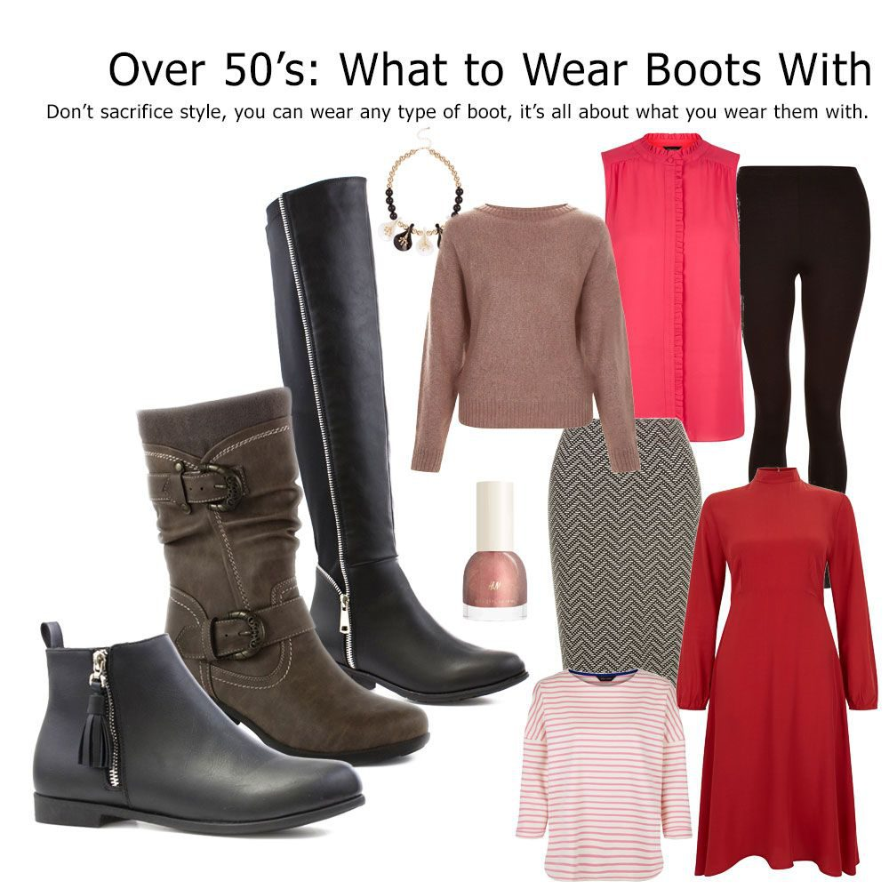 How To Wear Boots Over 50  2f6307750a