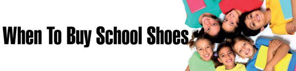 When is the best time to buy school shoes
