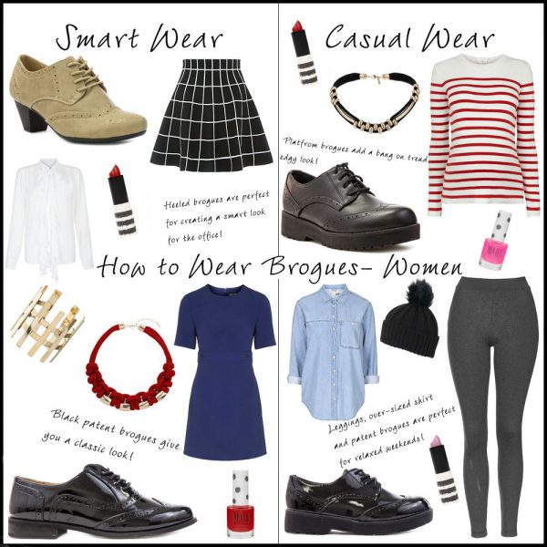 How to Style Womens Brogues
