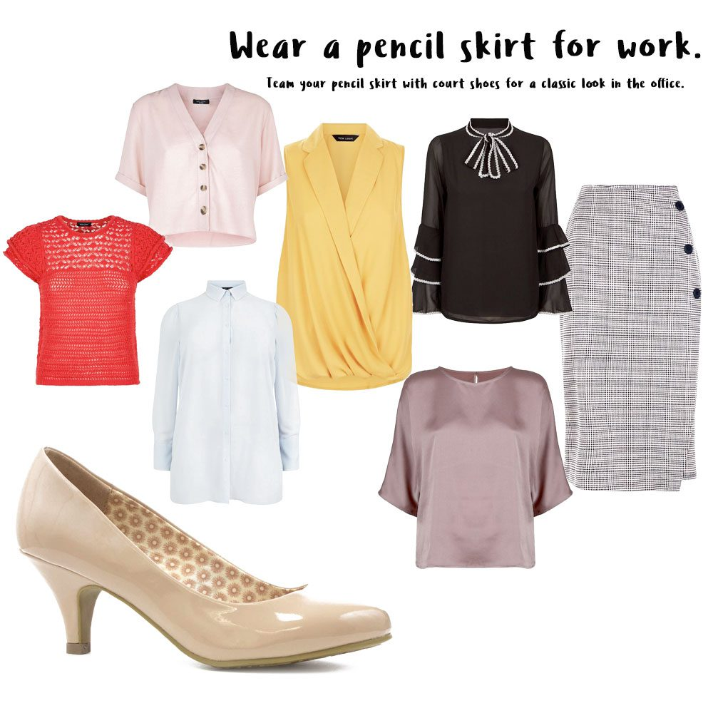 0e195d67ec5 Wearing a pencil skirt for work is probably one of the most obvious choices  when it comes to business attire. Smart