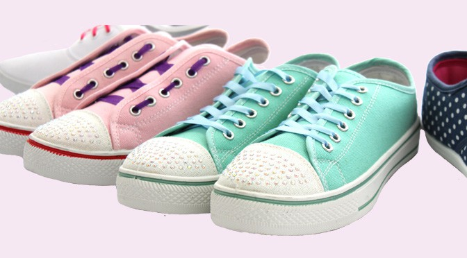 Creative Lacing for Canvas Shoes!   Shoe Zone Blog