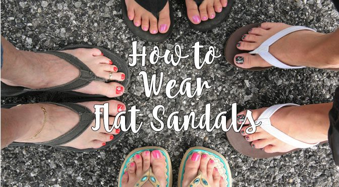 how-to-wear-flat-sandals