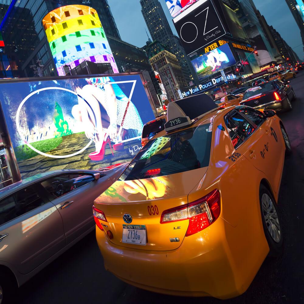 Oz in Times Square
