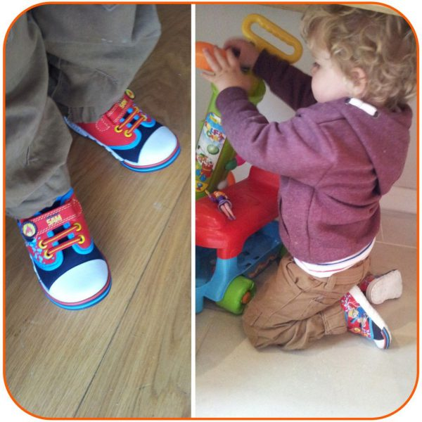 Fireman Sam Canvas Shoes for Little Boys