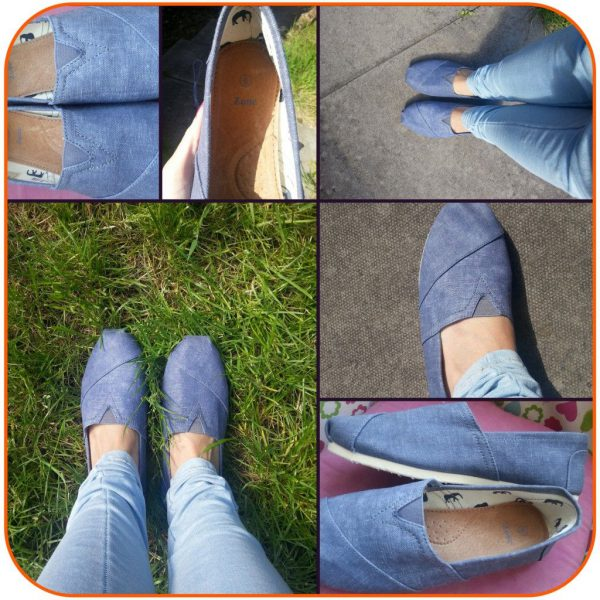Styling Denim Canvas Shoes