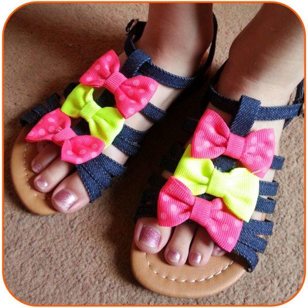 Styling Girls Neon Sandals