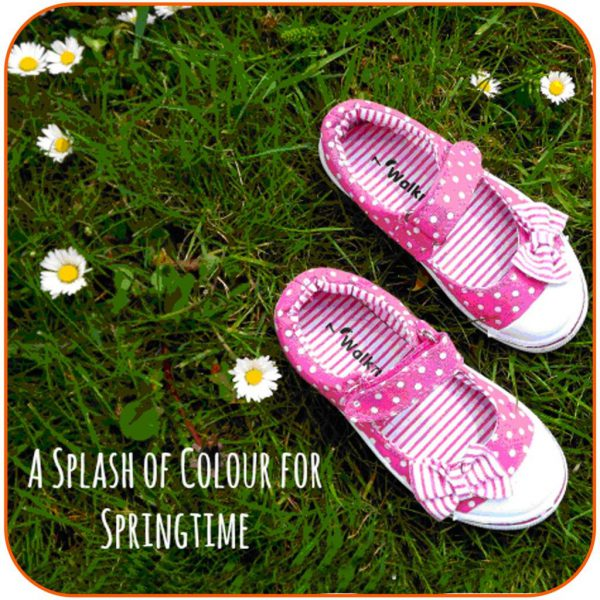 Summer Canvas Shoes For Little Girls