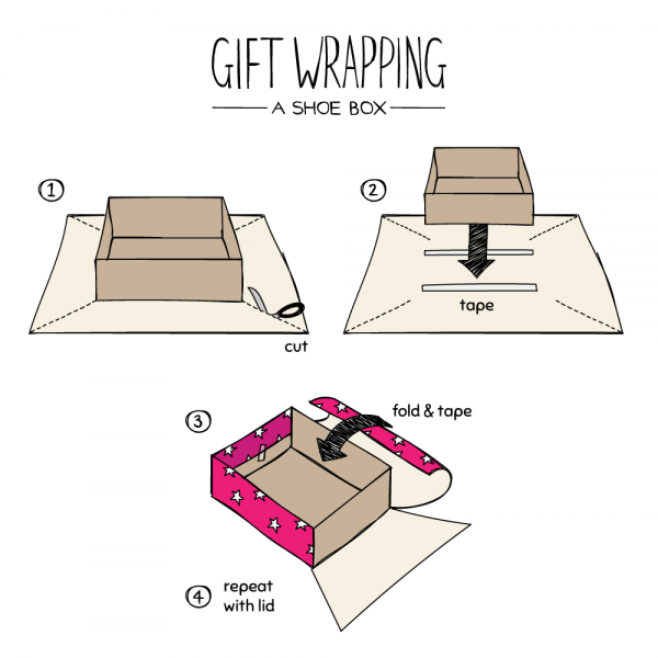 How-To-Gift-Wrap-A-Shoe-Box